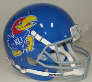 Kansas Jayhawks Schutt Full Size Replica XP Football Helmet