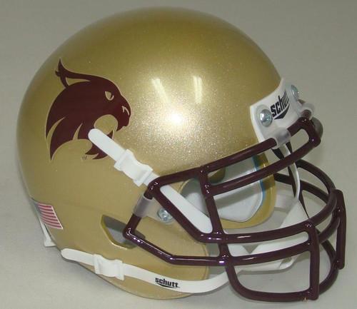Texas State Bobcats Schutt Full Size Replica XP Football Helmet