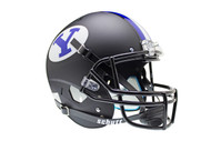 Brigham Young BYU Cougars Alternate Black Schutt Full Size Replica Helmet