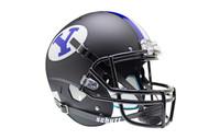 Brigham Young BYU Cougars Alternate Black Schutt Full Size Replica XP Football Helmet