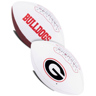 Signature Series NCAA Georgia Bulldogs Autograph Full Size Football