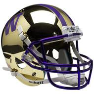 Washington Huskies Alternate CHROME Schutt Mini Authentic Helmet