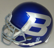 Boise State Broncos Alternate Blue B Schutt Mini Authentic Football Helmet