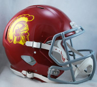 USC Trojans NEW Riddell Full Size Authentic SPEED Helmet