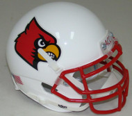 Louisville Cardinals Alternate 1 Schutt Mini Authentic Football Helmet