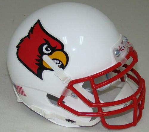 Louisville Cardinals Alternate 1 Schutt Mini Authentic Football Helmet