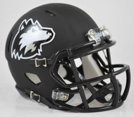 Northern Illinois Huskies Alternate Matte Black NCAA Revolution SPEED Mini Helmet