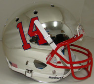 Fresno State Bulldogs Alternate Chrome Schutt Full Size Replica XP Football Helmet
