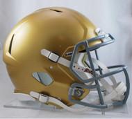 Notre Dame Fighting Irish NEW Riddell Full Size Authentic SPEED Helmet