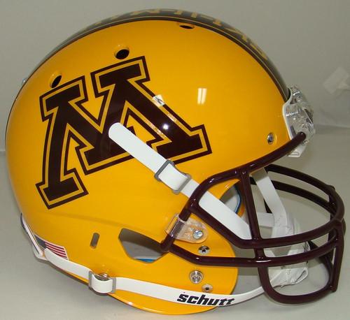 "Minnesota Golden Gophers Alternate ""BRICK BY BRICK"" Schutt Full Size Replica XP Football Helmet"