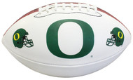 NCAA Oregon Ducks Autograph Football, Brown, Official Size