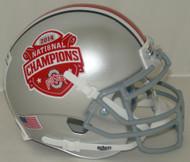 Ohio State Buckeyes SPECIAL 2014 National Champions Schutt Mini Authentic Helmet