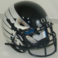 Oregon Ducks Alternate Black with Wings Schutt Mini Authentic Football Helmet