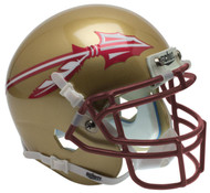 Florida State Seminoles 2014 New Logo Matte Schutt Mini Authentic Helmet