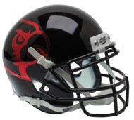 Louisville Cardinals Alternate Black Schutt Mini Authentic Helmet