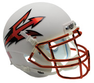 Arizona State Sun Devils White Orange Chrome Alternate Schutt Mini Authentic Helmet