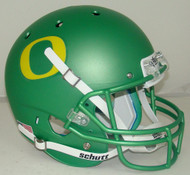 Oregon Ducks Apple Green Alternate Schutt Full Size Replica XP Football Helmet