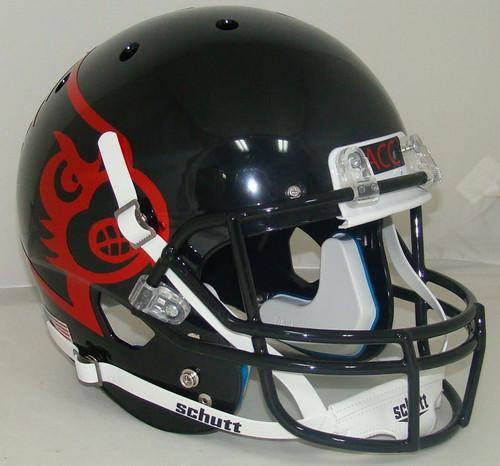 Louisville Cardinals Alternate Black Schutt Full Size Replica XP Football Helmet