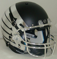 Oregon Ducks Alternate Black Chrome Wings Schutt Full Size Replica Helmet