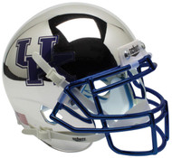 Kentucky Wildcats Alternate Silver Chrome Schutt Mini Authentic Football Helmet