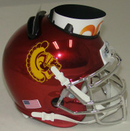 USC Trojans Alternate Chrome Mini Helmet Desk Caddy by Schutt