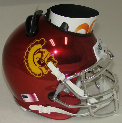 USC Trojans Alternate Chrome Mini Helmet Desk Caddy by Schutt