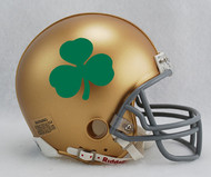 Notre Dame Fighting Irish Shamrock Clover NCAA Riddell Mini Helmet
