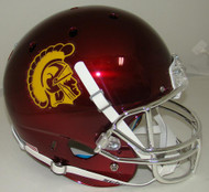 USC Trojans Alternate CHROME Schutt XP Full Size Replica Helmet