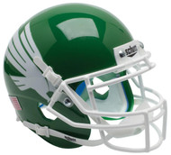 North Texas Mean Green Alternate Schutt Mini Authentic Football Helmet