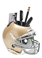 Notre Dame Fighting Irish Mini Helmet Desk Caddy by Schutt