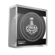 2015 NHL Stanley Cup Finals Playoff Sherwood Official Game Puck - Game 4 (Four)