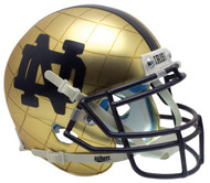 Notre Dame Fighting Irish Alternate 2014 Hydroskin Indianapolis Schutt Mini Authentic Helmet