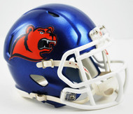 Coast Guard Bears NCAA Riddell Speed Mini Helmet