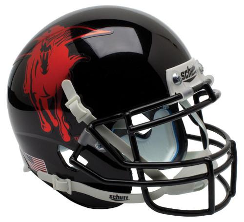 Texas Tech Red Raiders Alternate MASKED RIDER Schutt Mini Authentic Football Helmet
