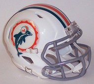 Miami Dolphins 1966 Tribute Revolution SPEED Mini Helmet