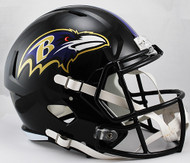 Baltimore Ravens SPEED Riddell Full Size Replica Helmet