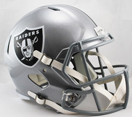 Las Vegas Raiders SPEED Riddell Full Size Replica Helmet