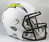 Los Angeles Chargers 2007-2018 SPEED Riddell Full Size Replica Helmet