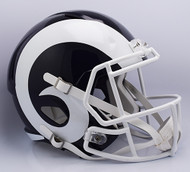 Los Angeles Rams SPEED Riddell Full Size Replica Helmet - 2017 Logo