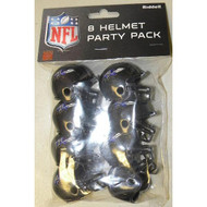 Baltimore Ravens Gumball Party Pack Helmets (Pack of 8)