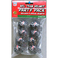 Houston Texans Gumball Party Pack Helmets (Pack of 8)