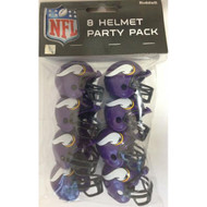 Minnesota Vikings Gumball Party Pack Helmets (Pack of 8)