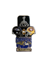 Super Bowl XLVII (47) Commemorative Lapel Pin