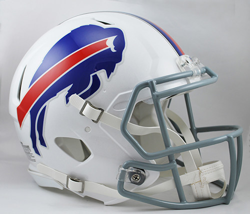 0189fd01 Buffalo Bills NEW Riddell Full Size Authentic SPEED Helmet
