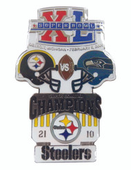 Super Bowl XL (40) Commemorative Lapel Pin