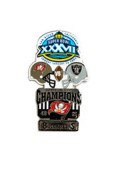 Super Bowl XXXVII (37) Commemorative Lapel Pin