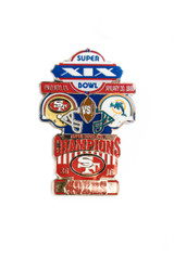 Super Bowl XIX (19) Commemorative Lapel Pin