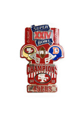 Super Bowl XXIV (24) Commemorative Lapel Pin