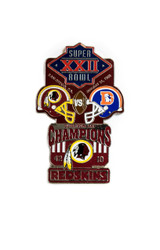 Super Bowl XXII (22) Commemorative Lapel Pin