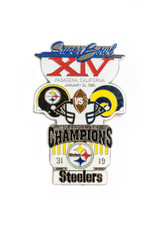 Super Bowl XIV (14) Commemorative Lapel Pin